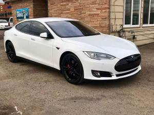 2014 Tesla Model S P85 4dr Liftback (+ 714 Auto) $31995