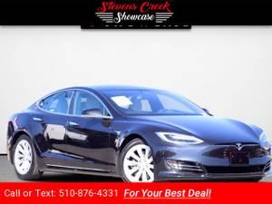 2017 Tesla Model S 90D sedan Obsidian Black Metallic (CALL 510-876-4331 FOR INTERNET PRICE) $66995