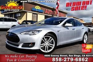 2015 Tesla Model S 90D SKU:22041 Tesla Model S 90D Sedan (San Diego Auto Finders) $51995