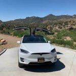 Tesla model X 100D (Santa Monica) $80000