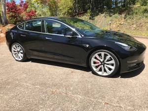 2018 Tesla Model 3 Performance (Eugene) $59500