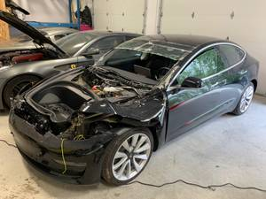 2019 TESLA MODEL 3 AWD ACCIDENT DAMAGED CLEAN TITLE $25000