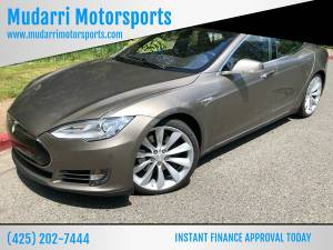 2015 Tesla Model S 70D AWD 4dr Liftback CALL NOW FOR AVAILABILITY! (+ Mudarri Motorsports Co) $47888