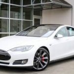 2014 Tesla Model S Electric P85 Hatchback (LAND ROVER BELLEVUE)