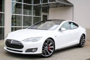 2014 Tesla Model S Electric P85 Hatchback (LAND ROVER BELLEVUE)