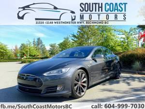Tesla Model S – P85D! – One owner – Loaded – Insane+ – Lifetime SC (South Coast Motors – Richmond) $67000