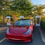 Red Tesla Model 3 – Performance (0-60 in 3.2 sec) (Irvine) $58750