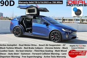 2016 Tesla Model X 90D Sport Utility 4D For Sale (+ iDeal Motors) $74988