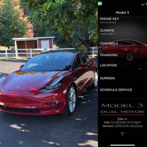 2018 Tesla Model 3 Performance $59900