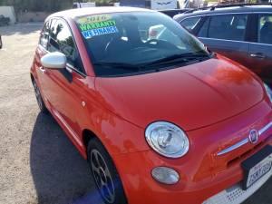 2016 Fiat 500e ** All Electric Baby Tesla (Vista) $9900
