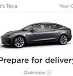 Tesla model 3 with full $10,000 rebate (New Westminster) $1000