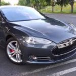 2014 Tesla Model S P85 (mountain view) $42000