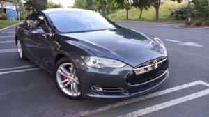 2014 Tesla Model S P85 (mountain view) $42000