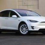 2017 Tesla Model X 100D 4D Sport Utility 100D w/ Enhanced Autopilot, B (redwood city) $80900