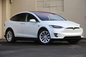 2017 Tesla Model X 100D 4D Sport Utility 100D w/ Enhanced Autopilot, B (redwood city) $80900