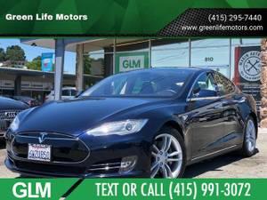 2013 Tesla Model S Base 4dr Liftback (60 kWh) – TEXT/CALL (415) 237-4897 (+ Green Life Motors) $30950