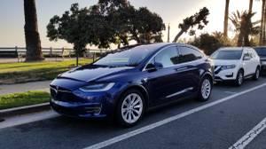 Tesla Model X  90D Sport $59000