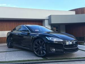 Black 2013 Tesla Model S Performance p85 (West Hollywood) $42000