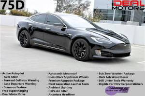 2016 Tesla Model S 75D Sedan 4D For Sale (+ iDeal Motors) $59988