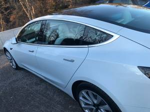 Tesla Model 3 almost brand new: AWD White <3 months (Jersey City) $48000