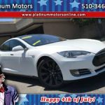 2013 Tesla Model S Preformance P85D ~ 1 CA Owner ~ White/BLK ~ Call U (San Leandro) $43997