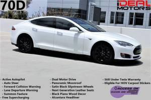 2016 Tesla Model S 70D Sedan 4D For Sale (+ iDeal Motors) $47988