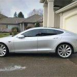 2014 / Tesla Model S / P85 / Silver $40000