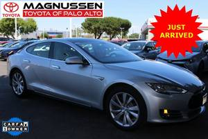 2014 *Tesla* *Model S* *Performance* *P85* – White (_Tesla_Model S) $46499