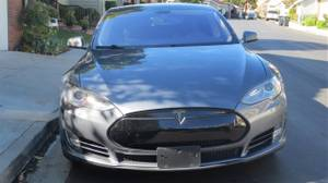 2013 Tesla P85 Gray/Blak  Mint, Loaded 88K miles (Tustin) $39999