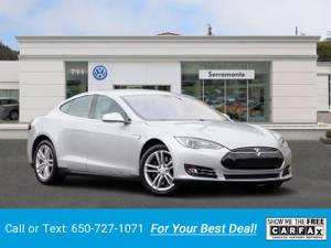 2013 Tesla Model S Sedan sedan Silver (CALL 650-727-1071 FOR CUSTOM PAYMENT) $438