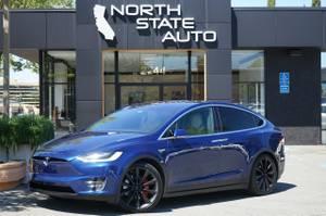 ✭2016 Tesla Model X P90D BLUE AWD only 45k miles (walnut creek) $75900