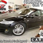 2013 *Tesla* *Model S* *Sedan 4d* *Black* (All Credit Welcome *Tesla* *Model S*) $278