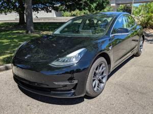 2018 Tesla Model 3 Long Range Premium Upgrades Black / Black 12k Miles (Executive Autosport) $44999