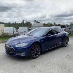 2015 Tesla Model S 70 37k Miles Autopilot Alcantara Factory Warranty (kenmore) $41950