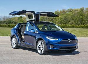 2017 TESLA MODEL X 75D-LOCAL-LOADED WITH ONLY 11,000 KMS! (VANCOUVER) $98900