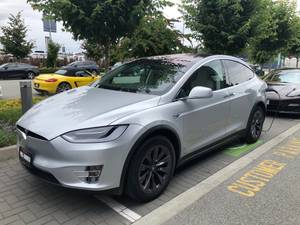 2018 Tesla Model X 100D / UP1620 (Porsche Centre Vancouver) $129995