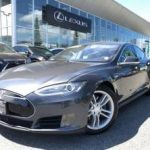 2015 TESLA MODEL 70D AWD / GREY ON WHITE / 55,451KM (NorthVancouver) $66990