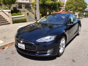 Tesla Model S 2014 with unlimited supercharger (pacific heights) $42000