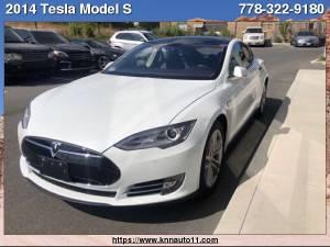 2014 Tesla Model S P85 4dr Sdn Performance (2014 Tesla Model S P85 4dr Sdn Performance) $59800