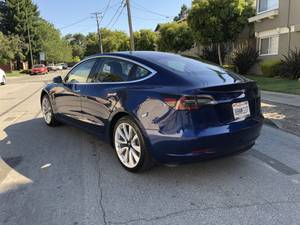 Pristine 2017 Tesla Model 3, long range, self-driving, premium int. (mountain view) $47000
