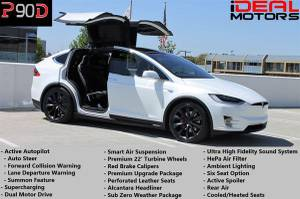 2016 Tesla Model X P90D Sport Utility 4D For Sale (+ iDeal Motors) $74988