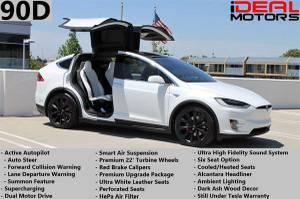 2016 Tesla Model X 90D Sport Utility 4D For Sale (+ iDeal Motors) $76777