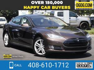 2013 Tesla Model S sedan Brown Metallic (No Brainer Price) $34000