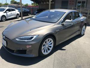 2016 Tesla Model S 75 with Auto Pilot, Bumper to B. Warranty, Red HOV (fremont / union city / newark) $47991