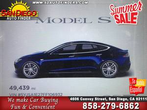 2015 Tesla Model S 85D All Wheel Drive* Autopilot* Tech SKU:22252 Tesl (San Diego Auto Finders) $46995