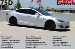 2016 Tesla Model S 75D Sedan 4D For Sale (+ iDeal Motors) $54988