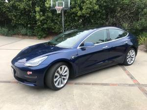 2018 Tesla 3 Long Range with Full Self Driving (santa barbara) $48250