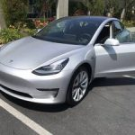 Tesla Model 3 Long Range Premium (Silver) with Silver Rims Auto (hayward / castro valley) $48000