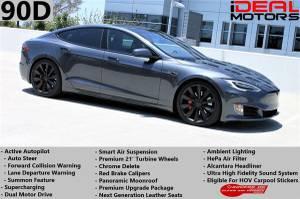 2016 Tesla Model S 90D Sedan 4D For Sale (+ iDeal Motors) $60988