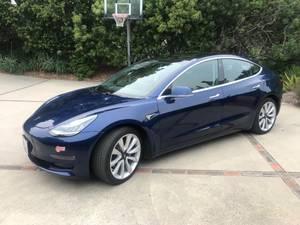 2018 Tesla 3 Long Range with Full Self Driving (santa barbara) $48250